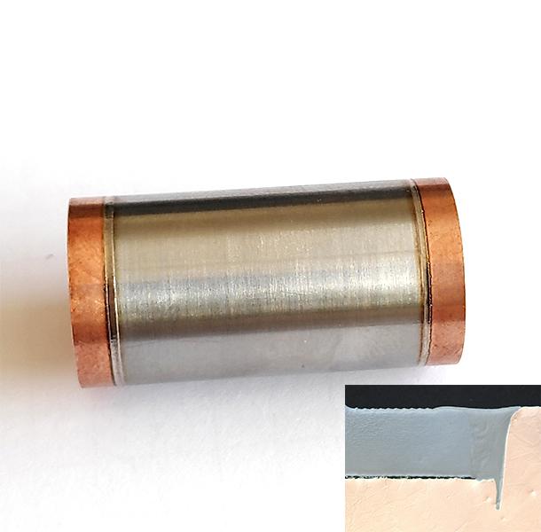 Soudure Laser, Spatial, Cuivre CuC2 + Titane TA6V