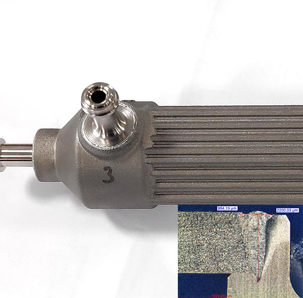 Soudure Laser, Echangeur Thermique, Titane TA6V
