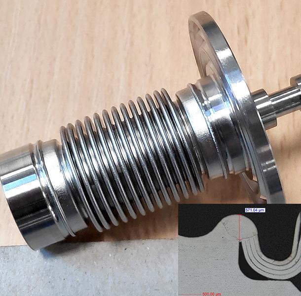Soudure Laser, Nucleaire, Inox 316L