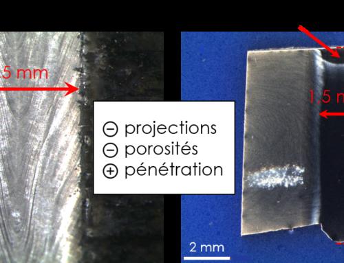 Soudure laser de pièces de fortes épaisseurs